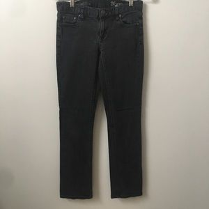 J Crew Matchstick Jeans In Black